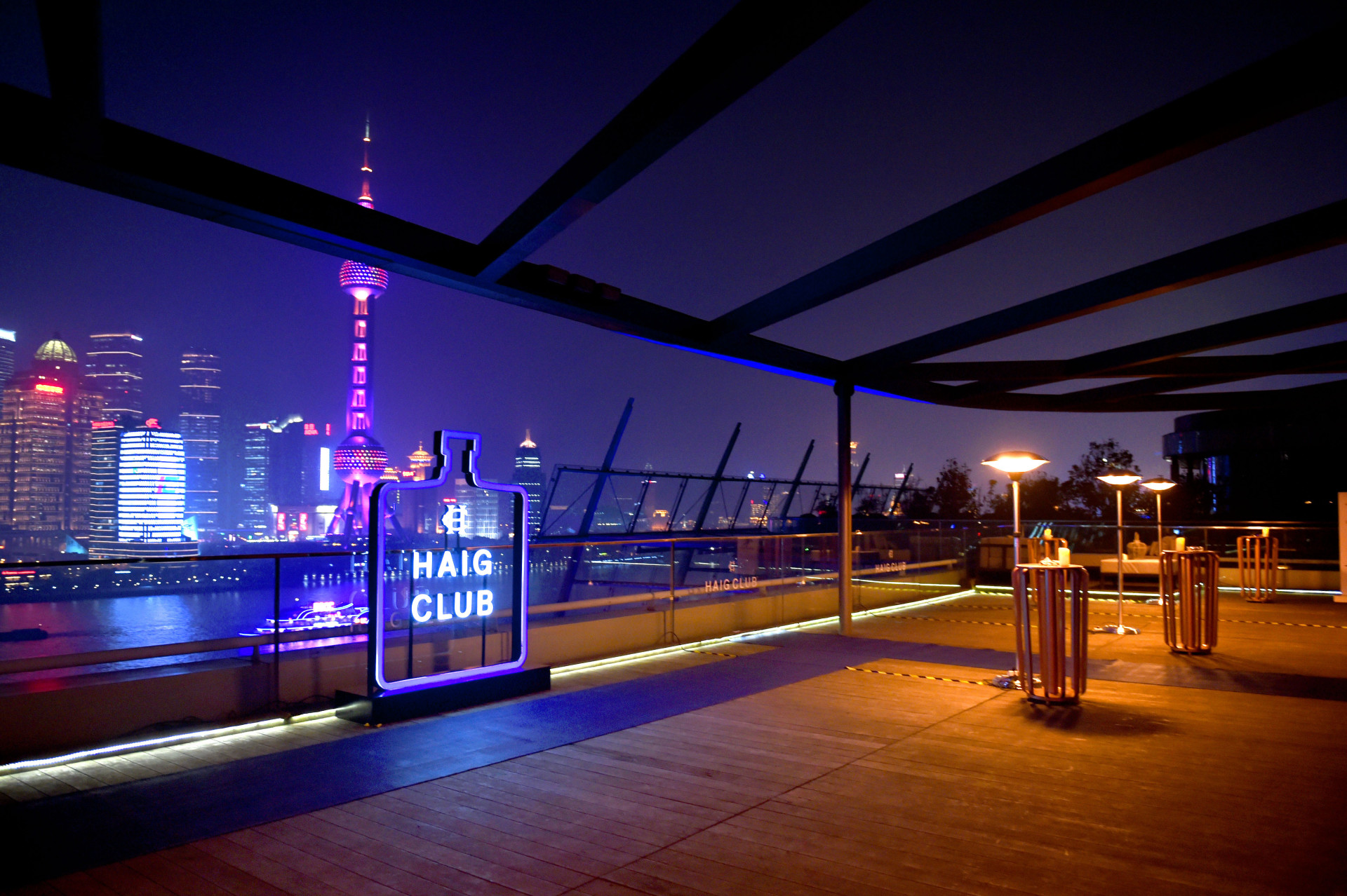 Shanghai, the home of HAIG CLUB™ for the week1